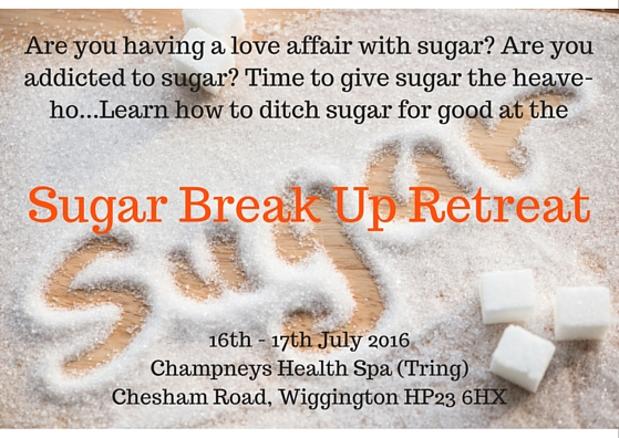 Champneys Sugar Break Up Retreat